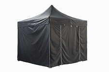 GREADEN Tente Pliante Pavillon Pliable 3x3m SUPER Barnum Réception Jardin 4 Murs