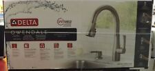 Delta Owendale 19875Z-SPSD-DST 1-Handle PullDown Kitchen Faucet In Stainless NEW