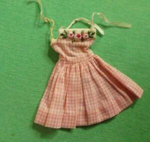 Vintage Skipper Doll Clothes - Vintage Skipper 1913 Me N' My Doll Dress