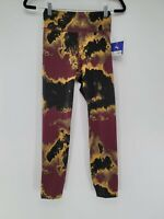 Joy Lab Womens Multicolor Abstract Athletic Gym Workout Leggings Size XS