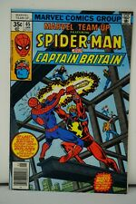 MARVEL COMICS (78) MARVEL TEAM UP SPIDER MAN CAPTAIN BRITAIN APPROXIMATELY A 9.4
