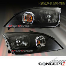2005 2006 2007 Ford Focus OE Style JDM Black Style Headlights (L+R) Pair