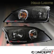 2005 2006 2007 Ford Focus OE Style JDM Black Style Headlights (L+R) Pair