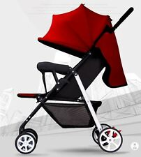 Baby Travelling Stroller Red