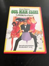 OUR MAN FLINT, Man of Mystery (1966) DVD R1 James Coburn WS CC