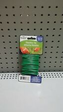 Heavy Duty Garden Flexible Twist Ties 16.5 Ft Each 2 Pack