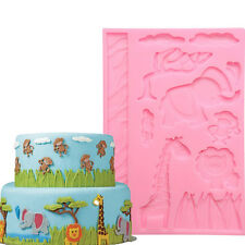 3D Animal Silicone Fondant Mold Cake Decorating Chocolate Baking Mould Mat Tools