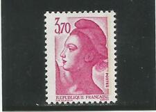 FRANCE n° 2486a variété une bande de phosphore à gauche neuf ** cote 5 €