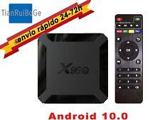 X96Q TV BOX Android 10.0 4K quad core 2.4G WIFI reproductor multimedia