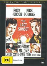 The Last Sunset DVD 1961 Western as Rock Hudson Kirk Douglas