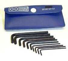 10 BRISTOL WRENCH SET FOR HALLICRAFTERS EQUIPMENT KNOBS - FREE DELIVERY USA