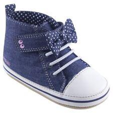Stride Rite Surprise Baby Girl Blue Maddie Shoes NIB 0-6  Denim Bow