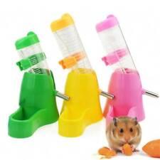 Pet Fat Hamster Water Drinker Dispenser Food Stand Hamster Feeder Bowl Bottl^&>