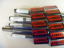 NEW KBS TOUR  BLACK NICKEL STIFF FLEX IRON SHAFTS 4-PW .355 TAPER TIP SET
