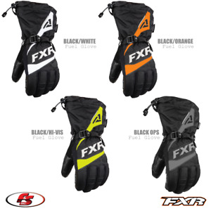 New 2021 FXR FUEL Men's Snowmobile GLOVE Black Ops Orange LG 2XL 3X