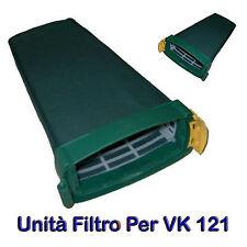 UNITA' FILTRO PORTA SACCHETTO PER VORWERK Folletto VK 121 RISPARMIO