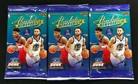 2019-20 Panini Absolute Basketball Factory Sealed Pack Lot of (3) ~ 15 Cards