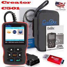 For BMW/mini ABS SRS airbag Code Reader Diagnostic OBD2 Scanner C501 US