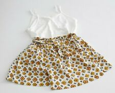 Zara Girls Pack 1x Shorts für Mädchen Kurze Hosen + T Shirts Gr.140 cm /9-10 J.