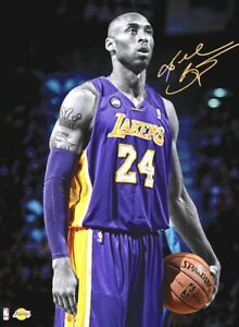 Los Angeles Lakers Kobe Bryant Signature Moment Poster 24 x 36