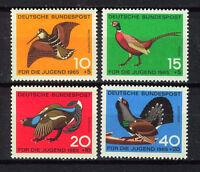 ALEMANIA/RFA WEST GERMANY 1965 MNH SC.B404/B407 Birds