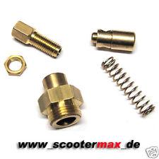 Choke Seilzug Umbau-Kit für alle Mikuni Vergaser mit M12 Chokegewinde TM/TMX/VM