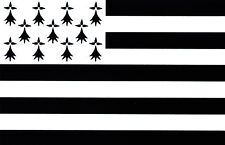sticker stickers decal vinyl decals national flag car Brittany ensign