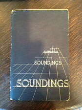 """RARE Limited Edition Book """"Soundings"""" Writings from Rice University Institute"""