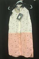 NWT Marni Silk/Crepe Sleeveless Colorblock Printed Dress 40IT