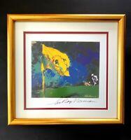 Leroy Neiman + Hand Signed + Golf Florida Seminole + High Quality Print + Framed