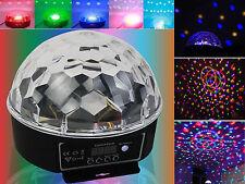 Disco Magic Ball DMX512 Stage Lighting Digital LED RGB Crystal DJ Effect Light