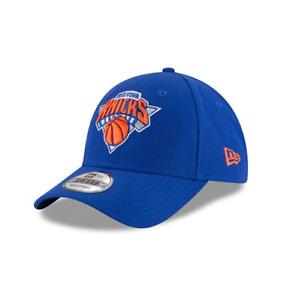 New Era 9FORTY NBA New York Knicks Logo Azul The League Curvo Peak Gorra Béisbol