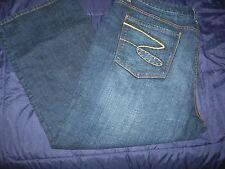 Seven7 Embellished Dark Wash Whisker Jeans Plus 24 24W Seven 7 Lane Bryant