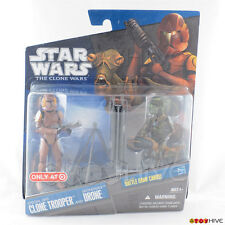 Star Wars Clone Wars Target 2pk Special Ops Clone Trooper and Geonosian Droid