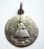 Silber Anhänger Schutzamulett Nostra Senora de Covadonga Spanien um 1930