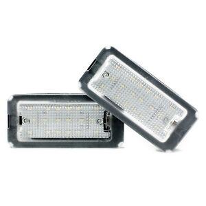 LED Kennzeichenbeleuchtung Fiat Nummernschild Module Xenon Licht 2er Set