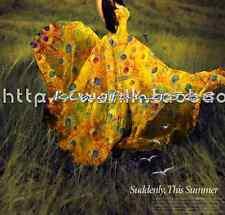 100% pure natural mulberry silk chiffon fabric dancing Peacock yellow 1m  X011