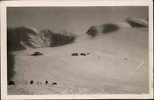 Saint-Gervais-Les-Bains France AK 1936 châlet du Col d' Arbois Mont Joly walked