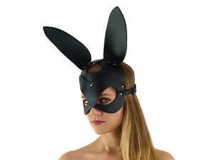 Hasenmaske - Rollenspiel Bunnymaske Bunny Hasen Maske Ropebunny Mask Nr. 5797