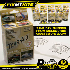 TEAR AID TYPE A - FREE POST AUSTRALIA CANVAS SWAG TENT ANNEX FABRIC REPAIR KIT
