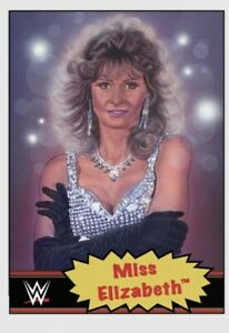 TOPPS WWE LIVING SET CARD MISS ELIZABETH #49 ONLINE EXCLUSIVE LIMITED EDITION