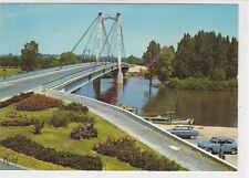 CPSM 49410 SAINT FLORENT LE VIEIL Pont suspendu sur la Loire voitures Edt ROSY
