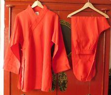 Top Damen Gr.170 Tai Chi Qigong Kung Fu Anzug Diagonal Kragen Baumwolle-Leinen