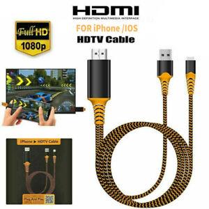 HDMI Kabel für iPhone iPad zu TV 1080P Digital AV Adapter HDTV 1080P