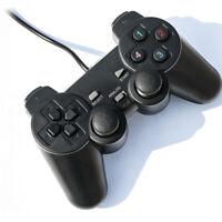 Dual Shock vibrazione singola Joystick Joypad Controller Gamepad Cablato Per PS2