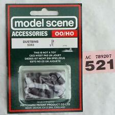 PP521 Model Scene 5083 Dustbins  00 scale
