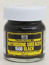 GSI Creos - Mr Hobby #SF288 Mr. Finishing Surfacer 1500 Black 40ml
