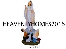 """Virgen de Fatima /Lady Of Fatima 12"""" Statue 1326- 12 ship in Protected Box"""