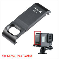 ULANZI G8-7 Metal Battery Lid Door Side Cover Skin For GoPro Hero Black 8 Camera