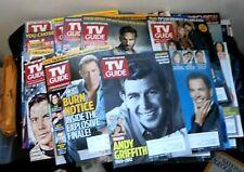 52 Tv Guides~ Spring~Winter~Fall & Summer ~Fan Favorites~2012~13 & 2014~LOT